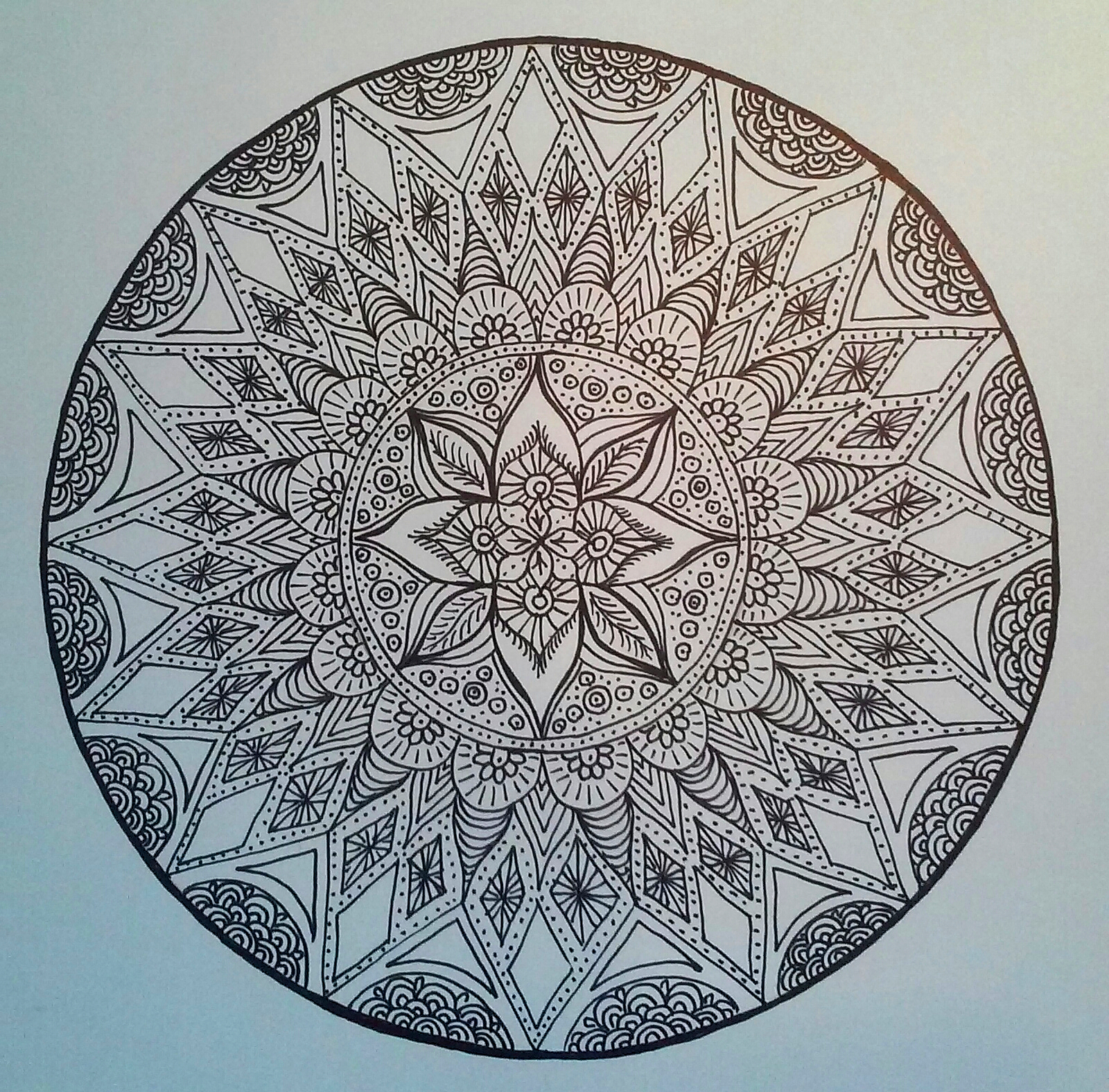 A Mandala for New Year's Day